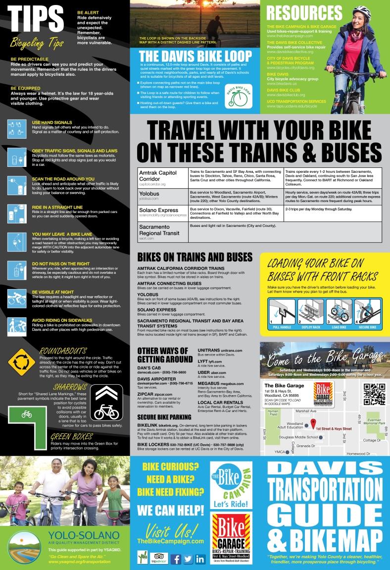 Davis Bike Map and Transportation Guide-FINAL