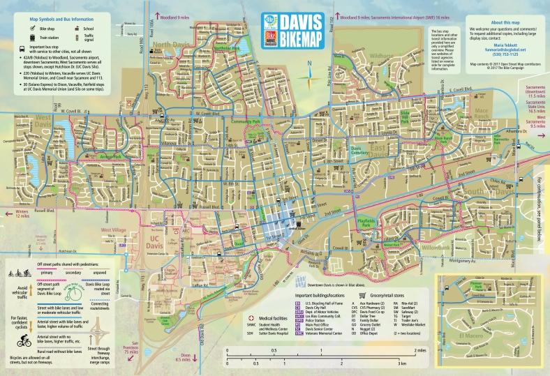 Davis Bike Map-FINAL