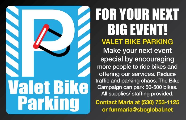 Valet Bike Parking Service