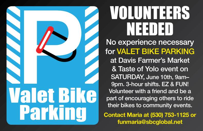 Valet Volunteers Needed