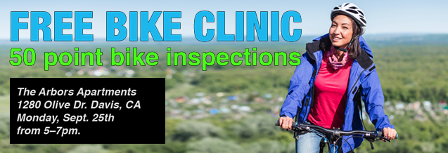 Free Bike Clinic Header