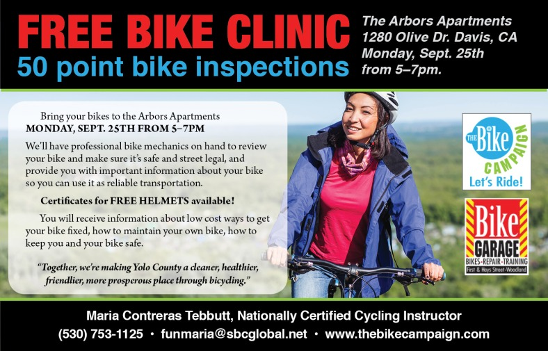 FreeBikeClinicFlyer-Arbors