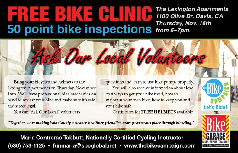 FreeBikeClinicFlyer Sep-17
