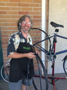 Steve Drivon-Lead Mechanic at The Bike Garage