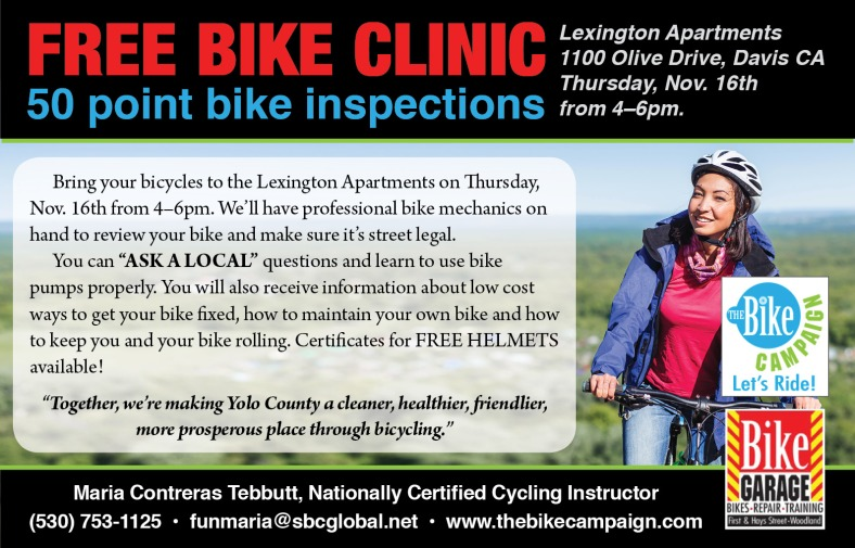 FreeBikeClinic-November-17-Lexington